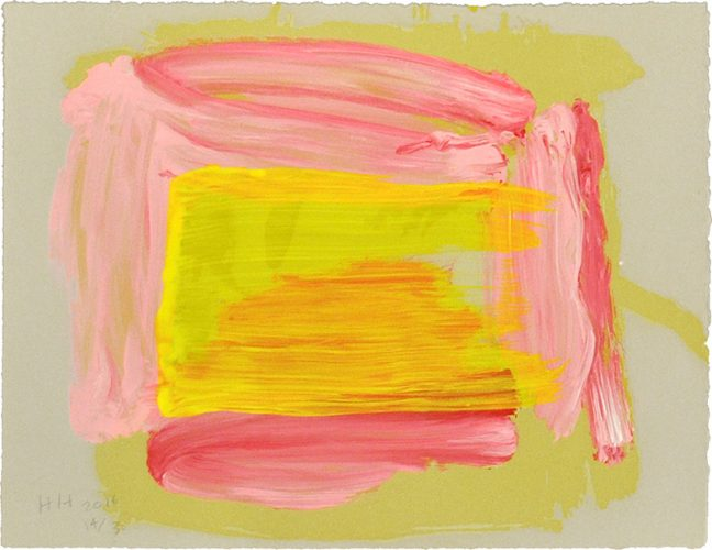 A Pale Reflection by Howard Hodgkin at