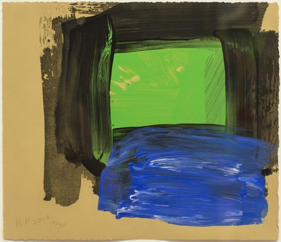Springtime by Howard Hodgkin at