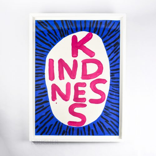 Kindness by David Shrigley at Lougher Contemporary