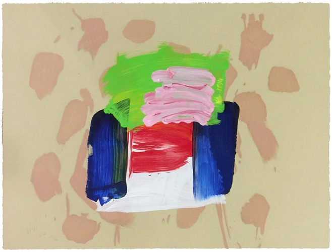 Ice Cream (from After All) by Howard Hodgkin at