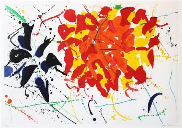 Untitled (SFE-080) by Sam Francis at Michael Lisi/Contemporary Art