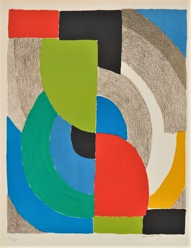 Helice Olympie by Sonia Delaunay at