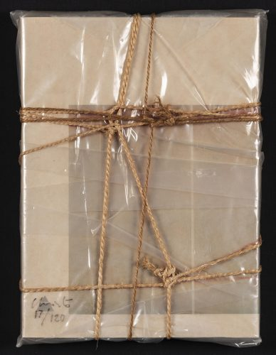 Wrapped Book Modern Art by Christo