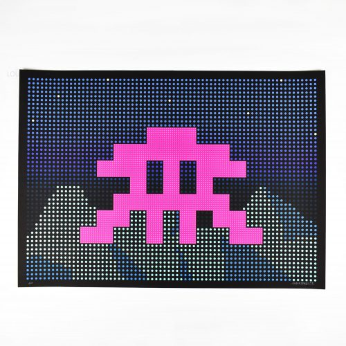 L.e.d. by Invader at