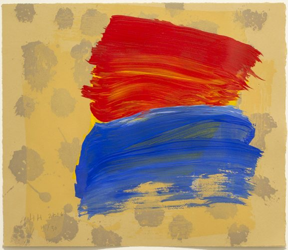 Outspoken by Howard Hodgkin at