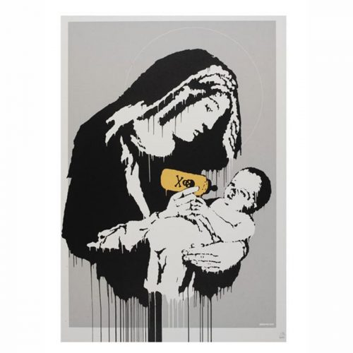Toxic Mary (Unsigned) by Banksy