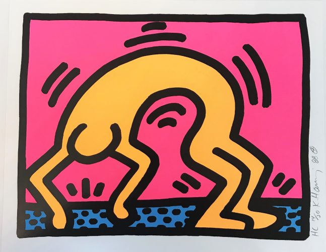Pop Shop II (2) by Keith Haring