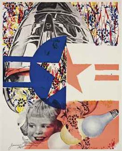F-111 (Leo Castelli Gallery Poster) by James Rosenquist at