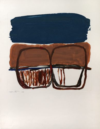 Untitled (Abstract JL500) by Janet Lippincott at Matthews Gallery