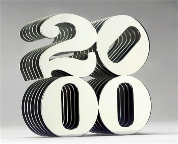 2000 by Robert Indiana at Art Commerce LLC