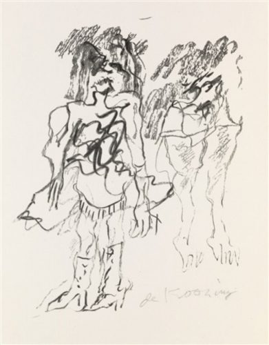 Two Women by Willem De Kooning at Art Commerce LLC