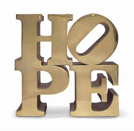 Hope by Robert Indiana at Art Commerce LLC