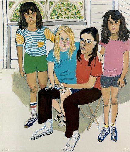 The Family by Alice Neel at