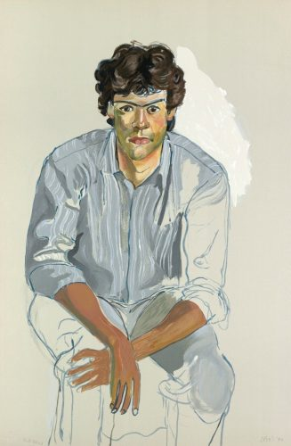 The Youth (John Cheim) by Alice Neel at