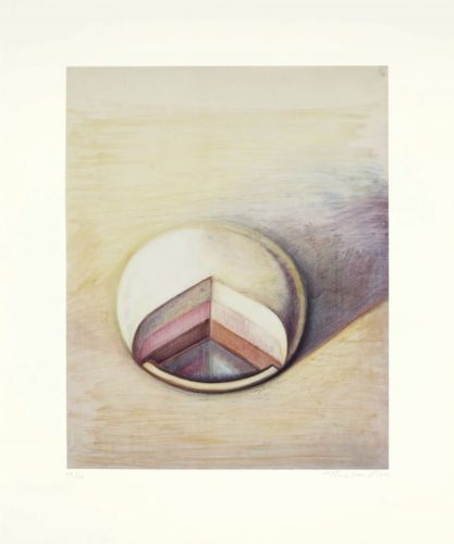 Neapolitan Pie by Wayne Thiebaud at