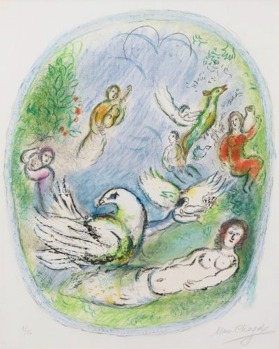 L'Age d'Or by Marc Chagall at