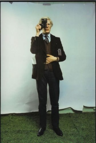 Andy Warhol, New York City, 1976 by Annie Leibovitz at