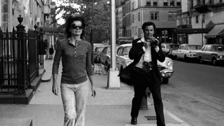 Jacqueline Kennedy Onassis and Ron Galella, 1971 by Ron Galella at