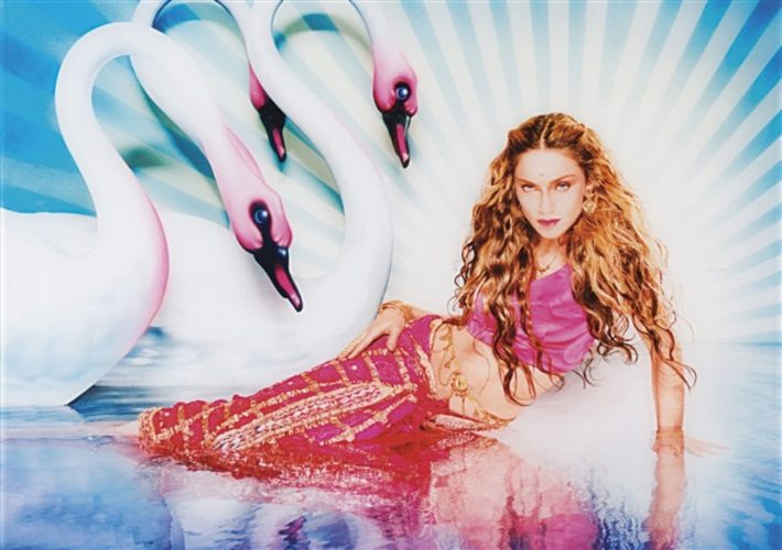 Mythical Swans: Madonna, New York, Rolling Stone, 1998 by David Lachapelle at