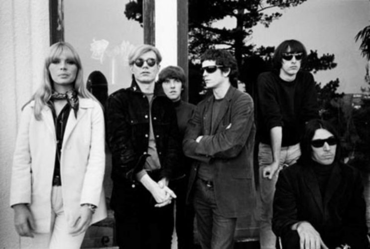 Andy Warhol, Nico, and the Velvet Underground by Steve Schapiro at
