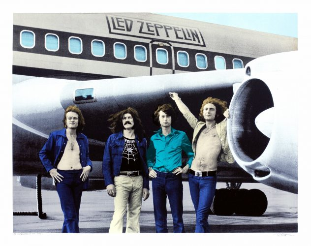 Led Zeppelin NYC 1973 by Bob Gruen at