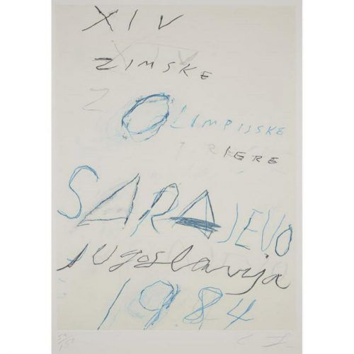Untitled from the Art and Sports portfolio by Cy Twombly