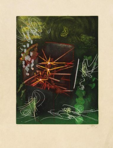"Untitled from ""Une Saison en Enfer"" by Roberto Matta at"