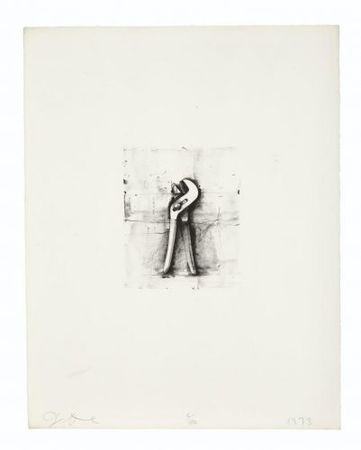 Adjustable Wrench by Jim Dine