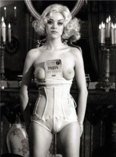 Paris. Sens Uniques (from: Rose. C'est Paris) by Bettina Rheims at