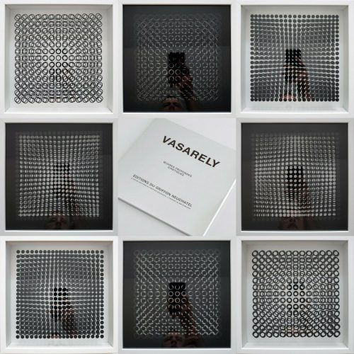 Oeuvres Profondes Cinetiques by Victor Vasarely at