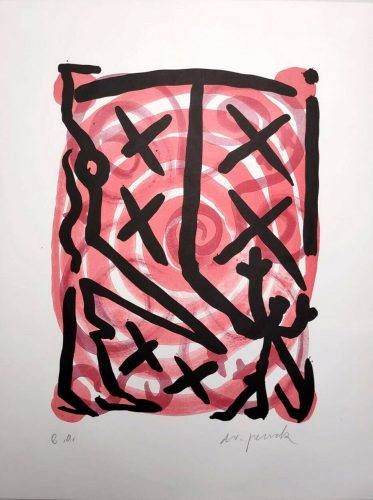 Untitled by A.R. Penck at