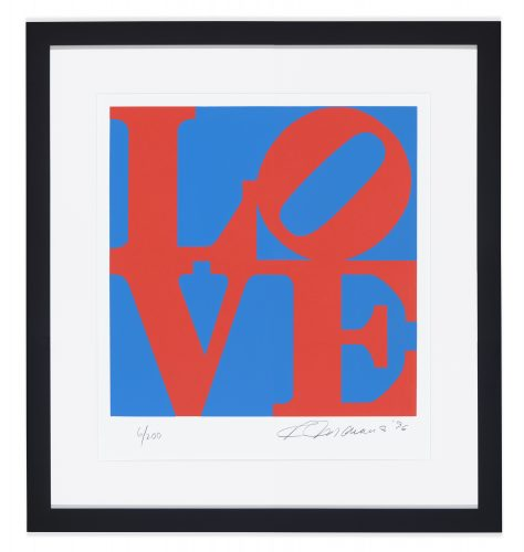 Book of love #1 by Robert Indiana
