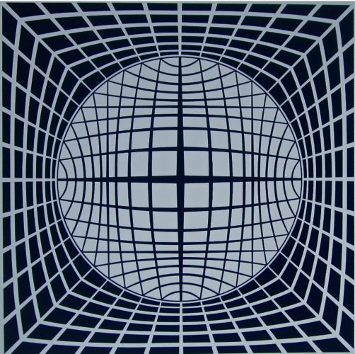 Tr-ur by Victor Vasarely at