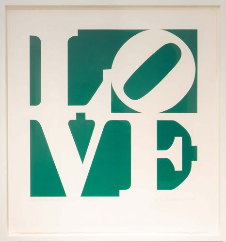 Greenpeace by Robert Indiana