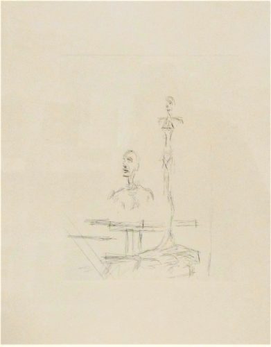 The Search by Alberto Giacometti at