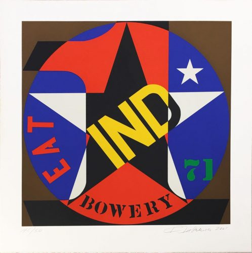 Decade Autoportrait '61 by Robert Indiana at