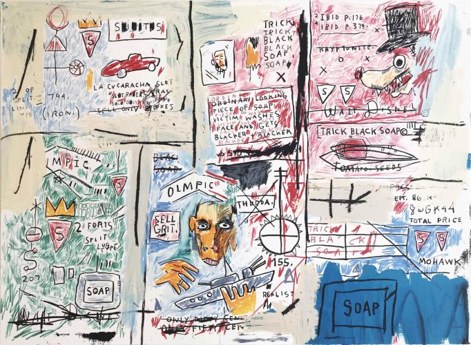 Olympic by Jean-Michel Basquiat at Hamilton-Selway Fine Art