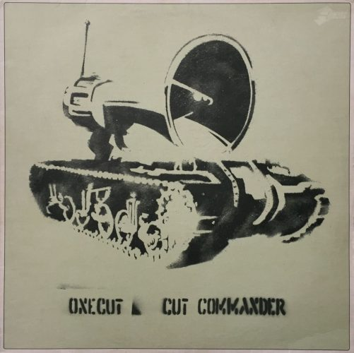 One Cut Commander by Banksy at