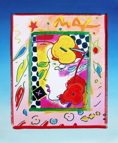 Lady Profile by Peter Max