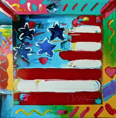 Flag (Retro Suite II) by Peter Max