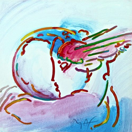 I Love the World (Retro Suite II) by Peter Max