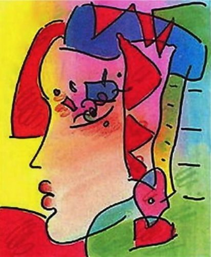 Profile Series IV by Peter Max at