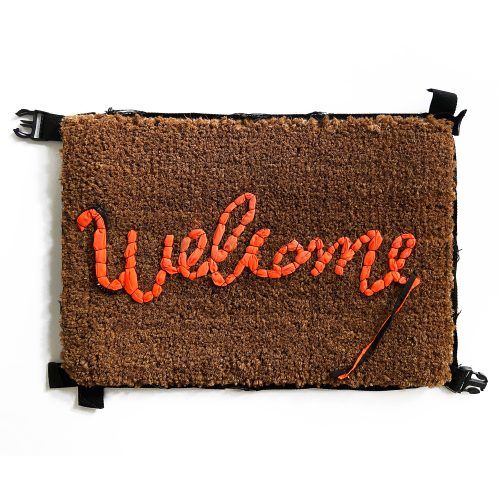 Welcome Mat by Banksy at