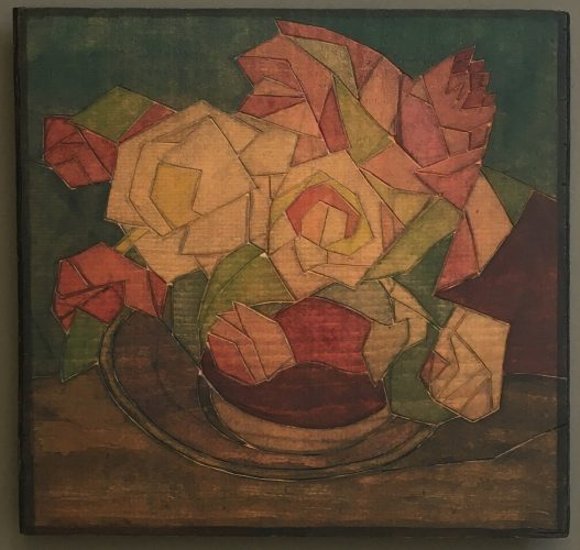 June Roses by Blanche Lazzell at