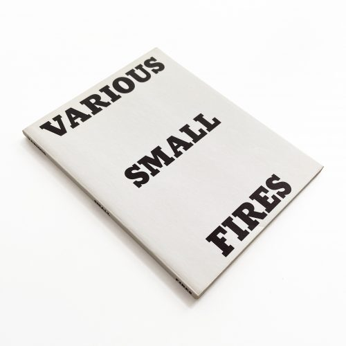 Various Small Fires and Milk by Ed Ruscha