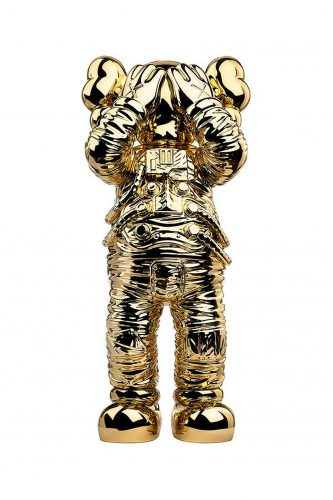 Holiday Space (Gold) by KAWS