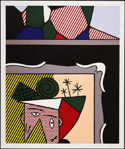 Two Paintings by Roy Lichtenstein at Surovek Gallery