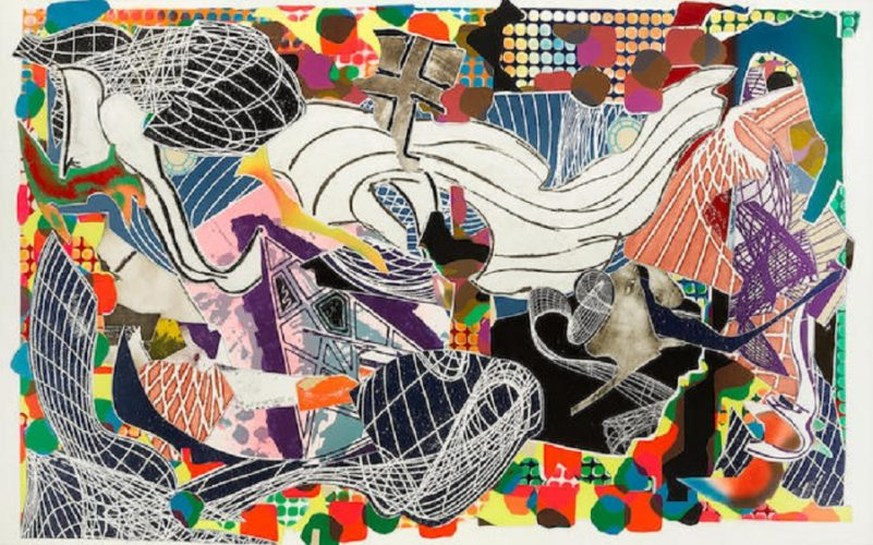 Monstrous Pictures of Whales by Frank Stella at