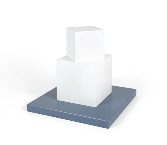 Cube on a Cube by Sol LeWitt at