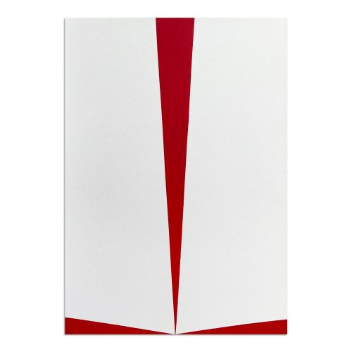 Untitled (Red and White) by Carmen Herrera at